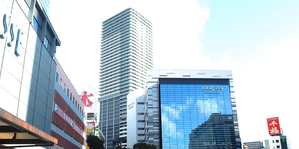 広島駅前グランクロスタワー(EKI CITY)2階