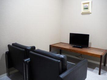 内視鏡検査前の待合室です